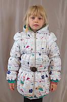 Оригинальная удобная качественная куртка-жилетка на девочку