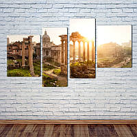 "Модульная картина ""Рим, Италия"""