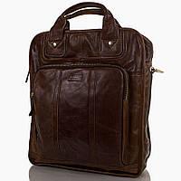 Мужская кожаная сумка-рюкзак ETERNO (ЭТЭРНО) ET1013
