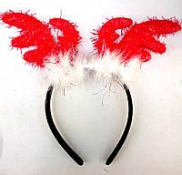 Рожки оленя на Новый год