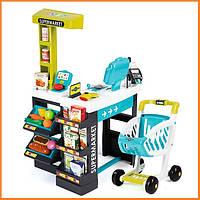 """Интерактивный супермаркет """"Supermarket"""" Smoby 350206"""