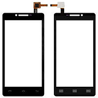 Сенсорная панель для PRESTIGIO MultiPhone 5500 Duo черная