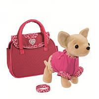 Simba Собачка в сумочке Шоу-звезда ChiChi Love 105897617 Showstar Plush Dog