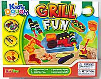 """Тесто для лепки Kid's Dough набор """"Гриль"""" 11712"""
