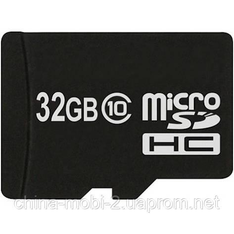 Карта памяти 32ГБ (флешка microSD 32Gb class 10 + adapter SD) ATLANFA, фото 2