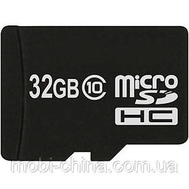 Карта пам'яті 32ГБ флешка microSD 32Gb class 10 + SD adapter ATLANFA