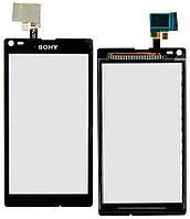 Сенсор для SONY C2105/C2104/S36h/Xperia L черный