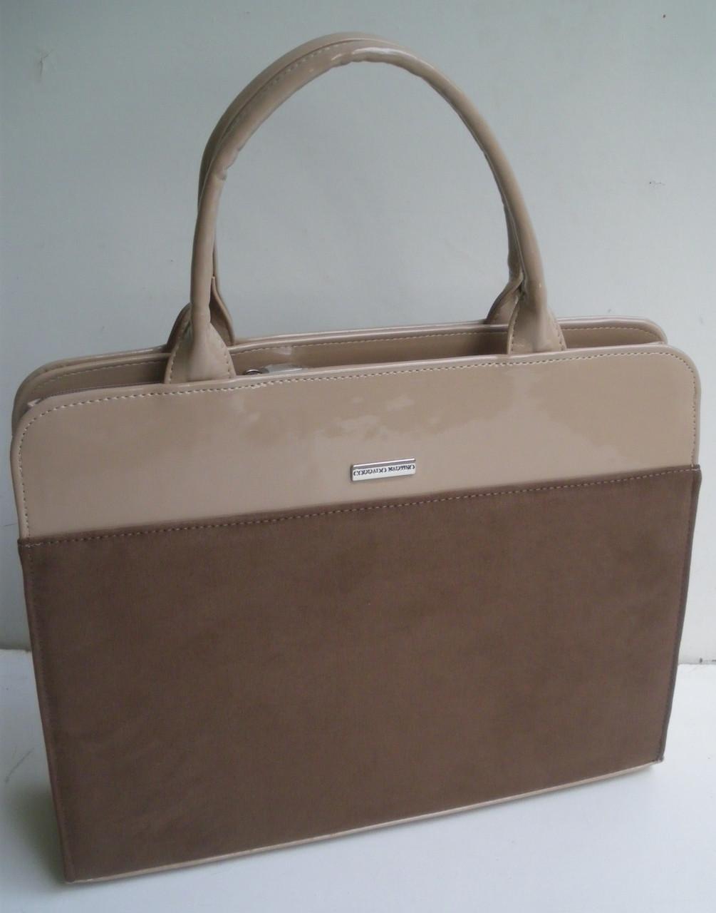 1bd156a7e270 Женская сумка-портфель для документов и ноутбука Corrado Martino. -  Чемоданчик в Закарпатской области
