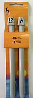 Прямые спицы  12,0 мм  для вязания.  Длина спиц: 40 см
