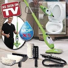 Пароочиститель для дома H2O Mop X5 - паровая швабра
