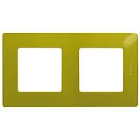 Рамка 2-постовая Зеленый папоротник,ETIKA