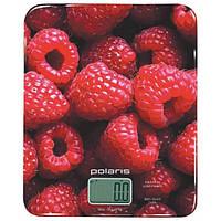 Весы кухонные POLARIS PKS 0832 DG Малина