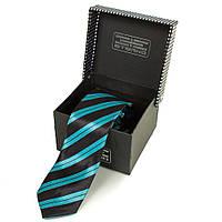 Мужской узкий шелковый галстук ETERNO (ЭТЕРНО) EG617