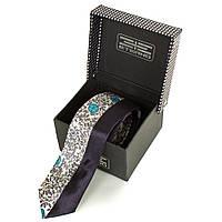 Мужской узкий шелковый галстук ETERNO (ЭТЕРНО) EG619-2