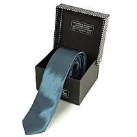 Мужской узкий шелковый галстук ETERNO (ЭТЕРНО) EG627