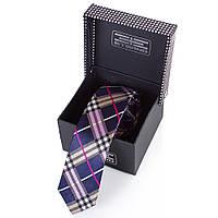 Мужской узкий шелковый галстук ETERNO (ЭТЕРНО) EG646