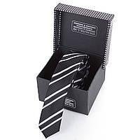 Мужской узкий шелковый галстук ETERNO (ЭТЕРНО) EG651