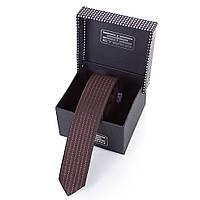 Мужской узкий шелковый галстук ETERNO (ЭТЕРНО) EG653