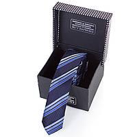 Мужской узкий шелковый галстук ETERNO (ЭТЕРНО) EG656