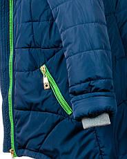 Детская зимняя куртка парка на девочку, р.34-46, фото 3