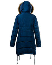 Детская зимняя куртка парка на девочку, р.34-46, фото 2