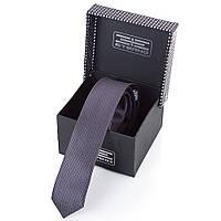 Мужской узкий шелковый галстук ETERNO (ЭТЕРНО) EG658