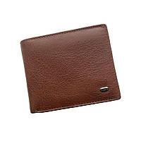 Мужской кошелек с зажимом из натуральной кожи Dr. Bond Classic. Кожаный кошелек - зажим. Черный и коричневый.