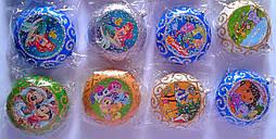 """Новогодняя подвеска """"Медаль"""" Мультик Китай"""