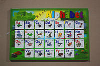 Детская столешница с алфавитом