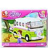 Конструктор Sluban Розовая мечта Автобус для путешествий
