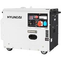 Генератор HYUNDAI DHY 8000SE-3 (6 кВт, 12 л.с., дизель, стартер) БЕСПЛАТНАЯ ДОСТАВКА!