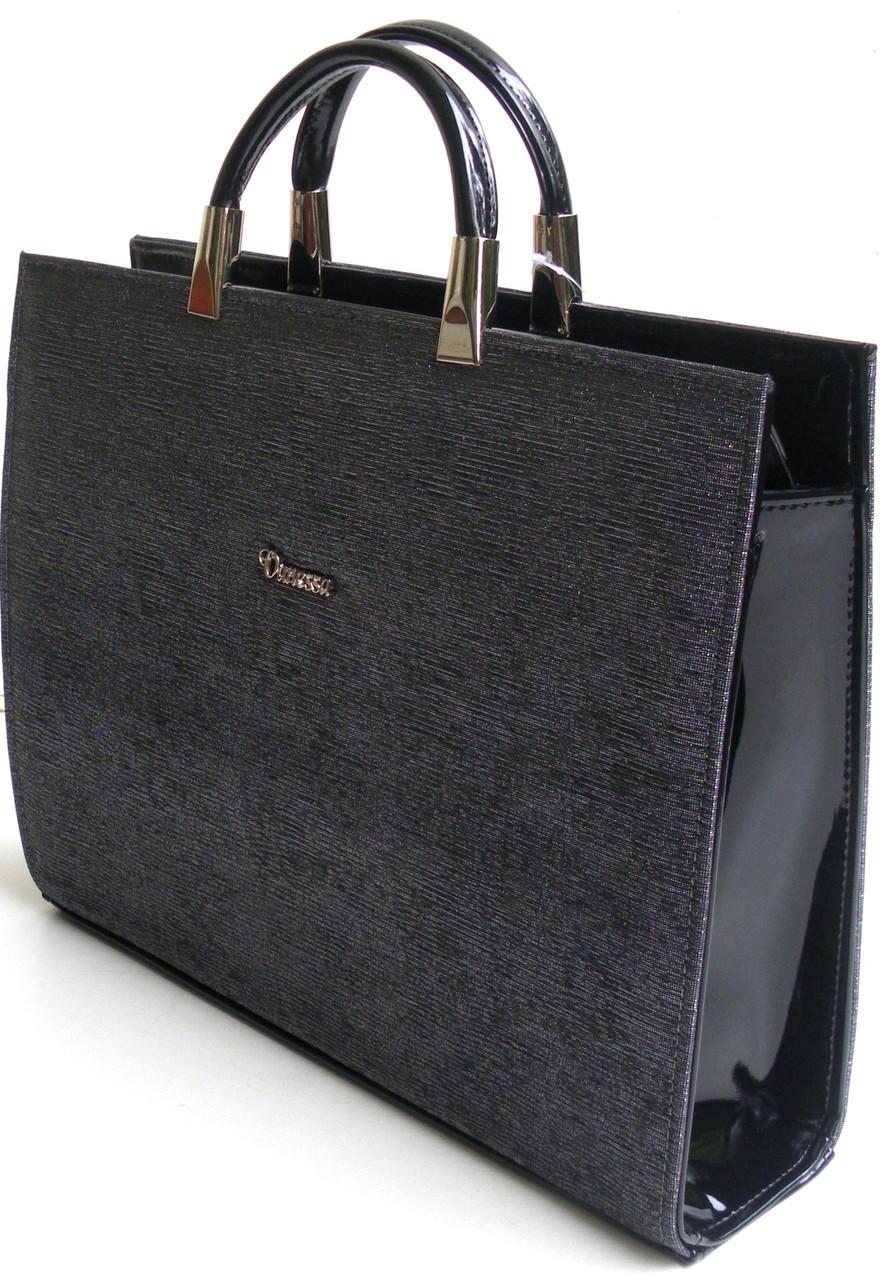 cc4a2580cb47 Женская сумка-портфель для документов и планшета Vanessa, люрекс ...