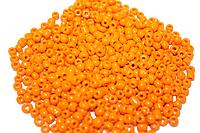 Бисер 100 грамм (КРУПНЫЙ)  76 (50 оранжевый)