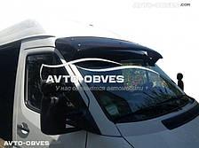 Козырек ветрового стекла солнцезащитный для Mercedes-Benz Sprinter 1996-2006 (установка на кронштейны)