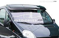 Солнцезащитный козырек для Opel Vivaro (установка на кронштейны)