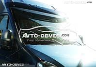 Солнцезащитный козырек для Nissan NV400 2010-...  (установка на кронштейны)