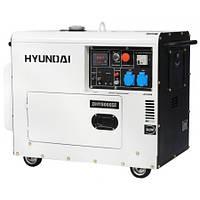 Генератор HYUNDAI DHY 8000SE (6 кВт, 12 л.с., дизель, стартер) БЕСПЛАТНАЯ ДОСТАВКА!