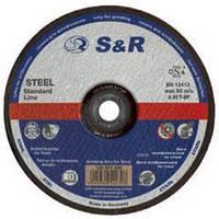 Зачистной круг S&R 230x6.0 мм A30S1