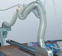 Рукав для стружки из полиуретана применяется для отсоса и транспорта воздуха, пыли, опилок, стружки, щепы