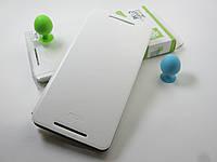 Кожаный чехол MOFI HTC One Max 803n (белый)