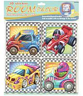 Набор наклеек Mota Декорации для детской комнаты Машинки (RDS-506)