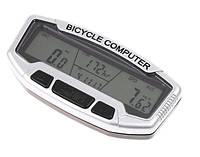 Велокомпьютер, одометр, спидометр SD-558A (28 функций)