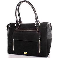 Женская сумка из натуральной замши и качественного кожезаменителя ETERNO (ЭТЕРНО) ETMS0592-2