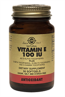 Витамин Е капс.100МЕ 550мг N50 фл., Солгар / Solgar