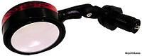 Зеркало TW DX3200BF, черное с мигалкой