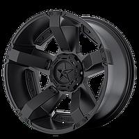 Литые диски 9х18 5x139,7/5x150 ET0 с xD 811 Rockstar в II черный - Тойота Тундра и 4WD