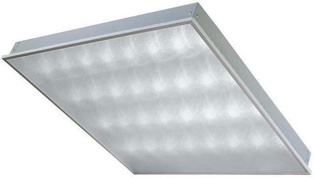 LED панель в потолки Armstrong и подвесные гипсокартонные