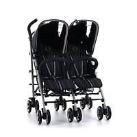 Прогулочная коляска Twinyx Cybex/ Happy Black-black