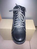 Зимние мужские кожаные ботинки спортивного стиля