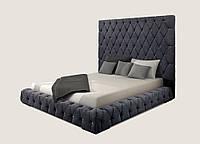 Кровать двуспальная Грегори с подъемным механизмом 1600х2000 мм (2000х2300х1850 мм)